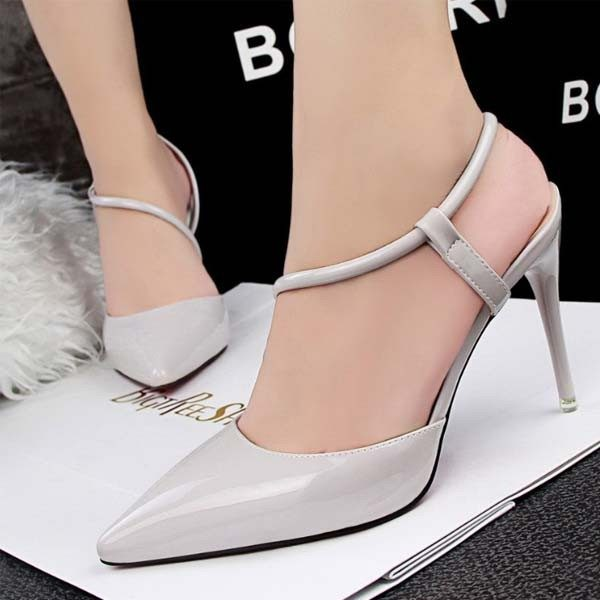 High heel shoes simple style stiletto